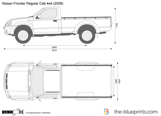 Nissan Frontier Regular Cab 4x4