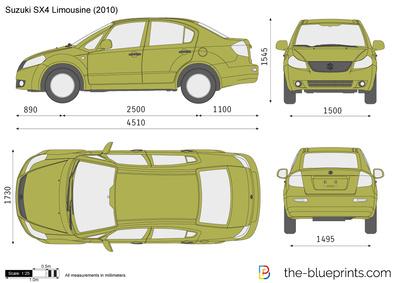 Suzuki SX4 Limousine