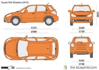 Suzuki SX4 Streetline