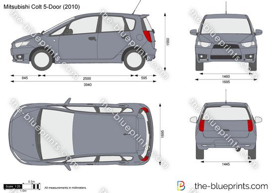 Mitsubishi Colt 5-Door