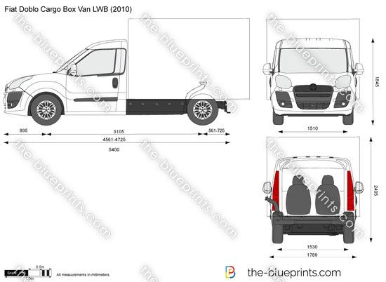 Fiat Doblo Cargo Box Van LWB