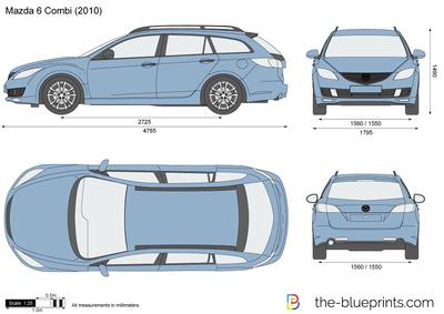 Mazda 6 Combi (2010)