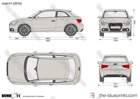 the blueprints cars audi audi a1 2014. Black Bedroom Furniture Sets. Home Design Ideas