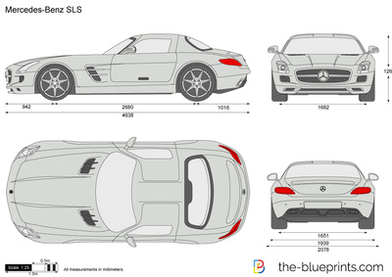 Mercedes-Benz SLS AMG C197