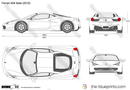 Blueprint Vector Drawings The-blueprints.com Vector