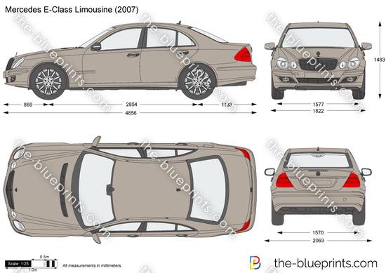Mercedes-Benz E-Class Limousine W211