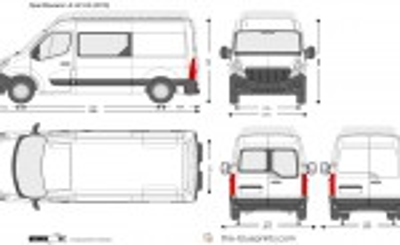 Opel Movano L2 H2 H3