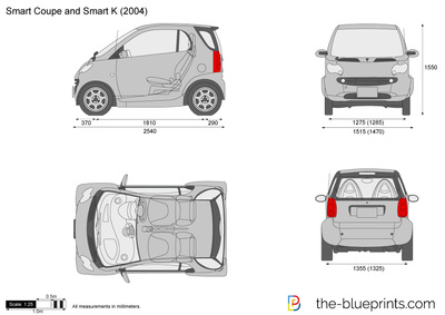 Smart Coupe and Smart K