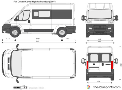 Fiat Ducato Combi High half-window