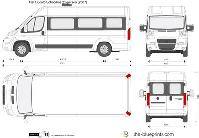 Fiat Ducato Schoolbus 21-person