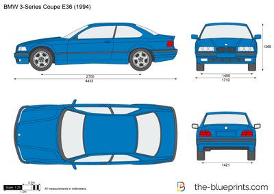 BMW 3-Series Coupe E36