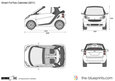 The blueprints blueprints cars smart smart fortwo smart fortwo cabrio 2005 malvernweather Image collections