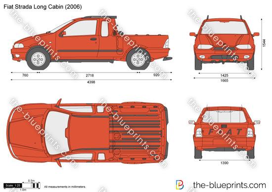 Fiat Strada Long Cabin