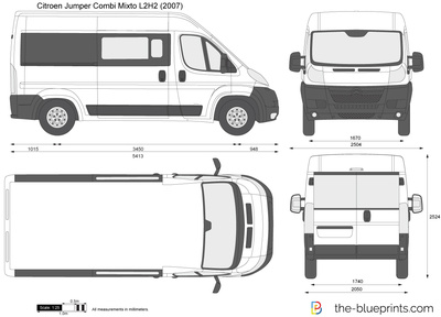 Citroen Jumper Combi Mixto L2H2