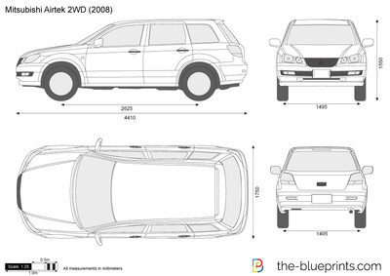 Mitsubishi Airtrek 2WD