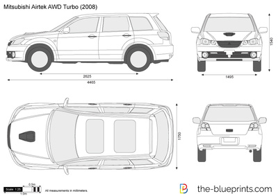 Mitsubishi Airtrek AWD Turbo
