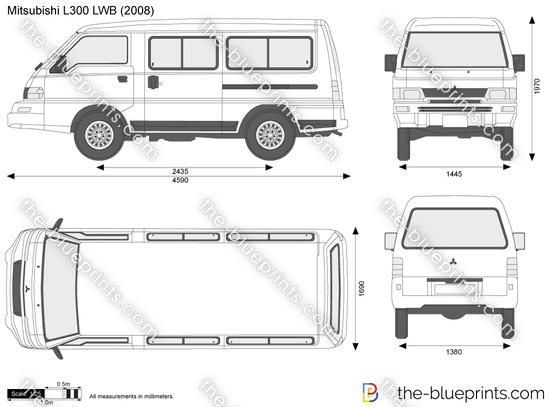 Mitsubishi L300 LWB