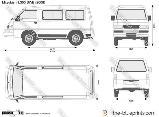 Mitsubishi L300 SWB