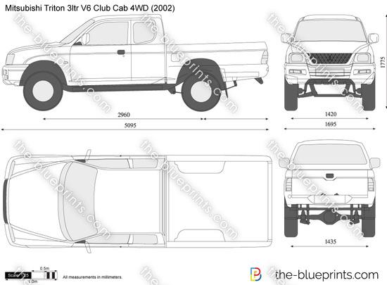 Mitsubishi Triton 3ltr V6 Club Cab 4WD