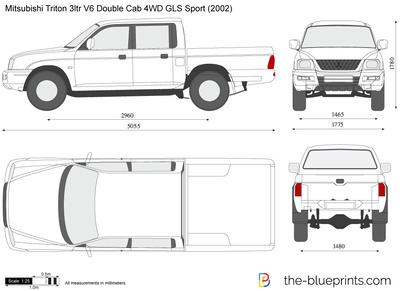 Mitsubishi Triton 3ltr V6 Double Cab 4WD GLS Sport