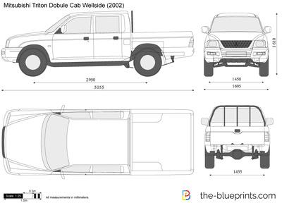 Mitsubishi Triton Double Cab Wellside