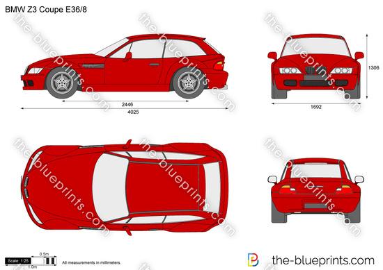 BMW Z3 Coupe E36/8