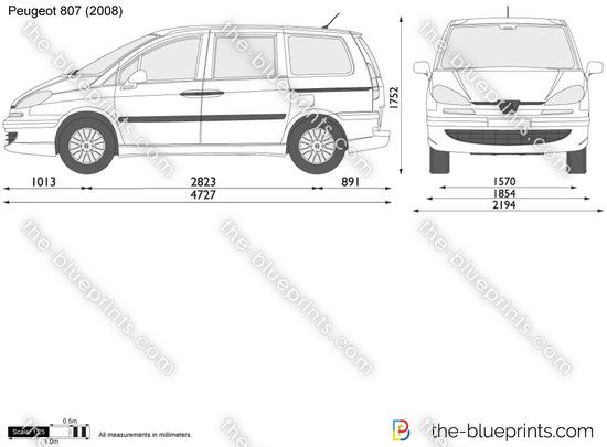 Blueprints Gt Cars Gt Peugeot Gt Peugeot 807 2007