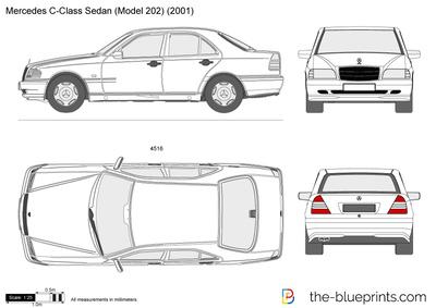 Mercedes-Benz C-Class Sedan W202