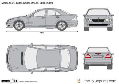 Mercedes-Benz C-Class Sedan W203