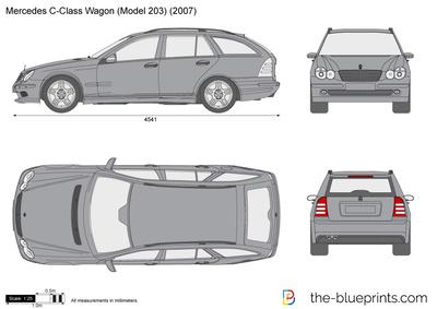 Mercedes-Benz C-Class Wagon W203