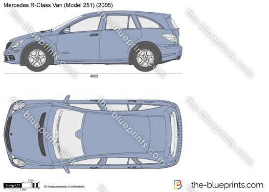 Mercedes-Benz R-Class Van W251
