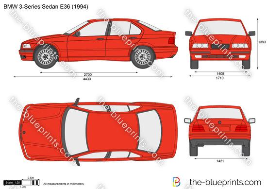 BMW 3-Series Sedan E36