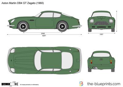 Aston Martin DB4 Zagato (1960)