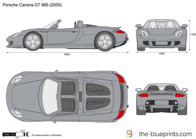 Porsche Carrera GT 980