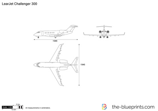 LearJet Challenger 300