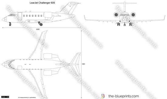 LearJet Challenger 605
