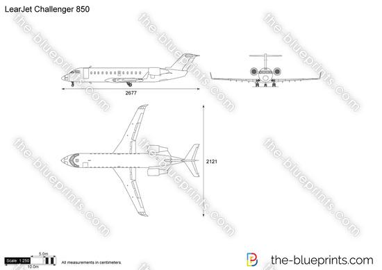 LearJet Challenger 850
