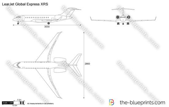 LearJet Global Express XRS