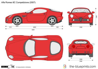 Alfa Romeo 8C Competizione (2008)
