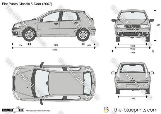 Fiat Punto Classic 5-Door