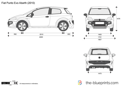 Fiat punto evo abarth on fiat 500 dimensions