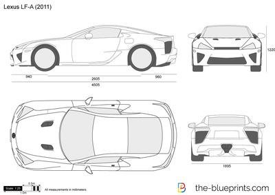 Lexus LF-A (2011)