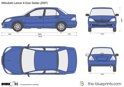 Mitsubishi Lancer 4-Door Sedan