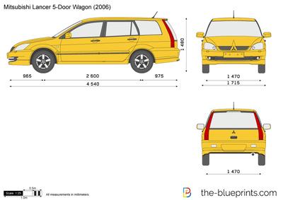 Mitsubishi Lancer 5-Door Wagon