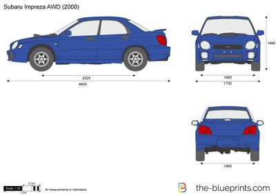 Subaru Impreza AWD (2000)