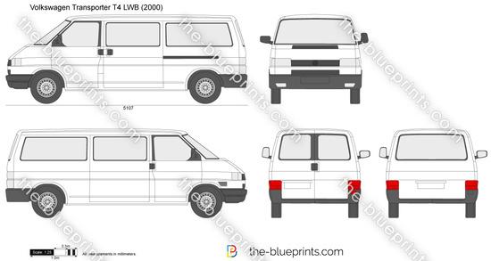 Volkswagen Transporter T4 LWB