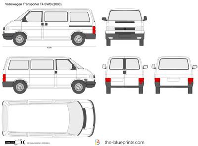 Volkswagen Transporter T4 SWB
