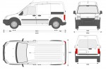 Ford Transit Connect LWB High Roof Van