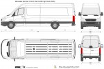 Mercedes-Benz Sprinter 313CDi Van ELWB High Roof