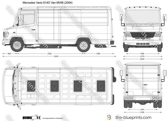 Mercedes-Benz Vario 614D Van MWB